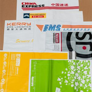 Customized poly mailers