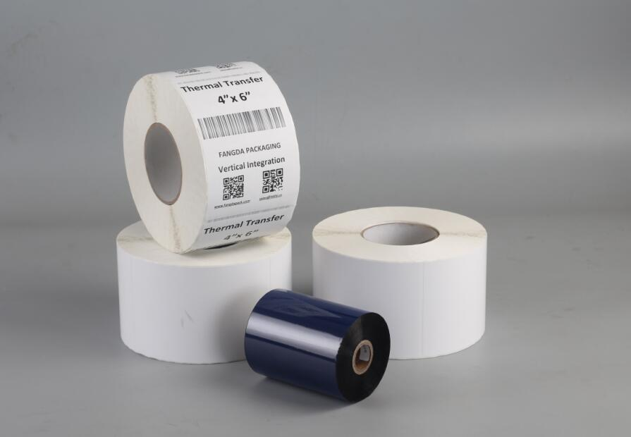 "3"" Diameter Core Thermal Transfer Labels"